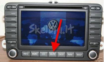VW map dvd update - Navigps