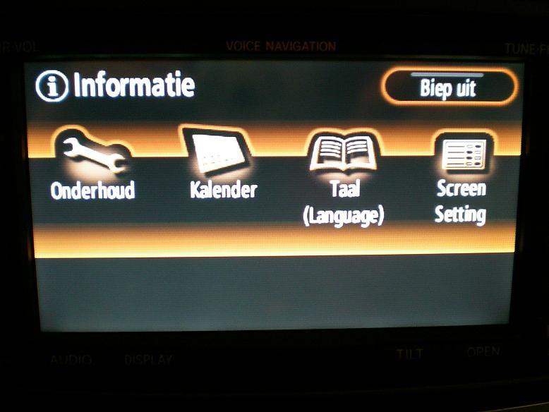 Toyota Lexus map update - Navigps